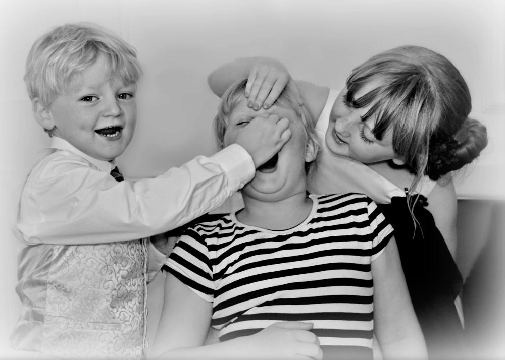 Photo in People #dentist #kids #playing #black and white