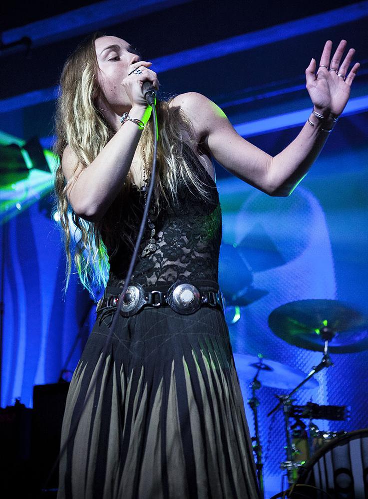 Photo in Concert #zelladay #portland #oregon #dougfirlounge #music #venue #live #freepeople #elevenpdx #gypsy #woman
