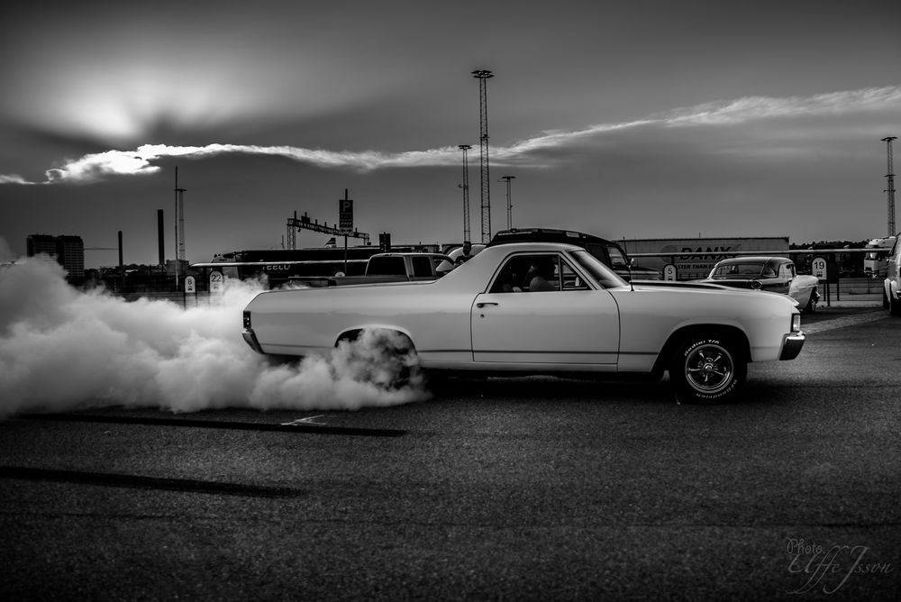 Photo in Vehicle #chevrolet #elcamino #burnouts