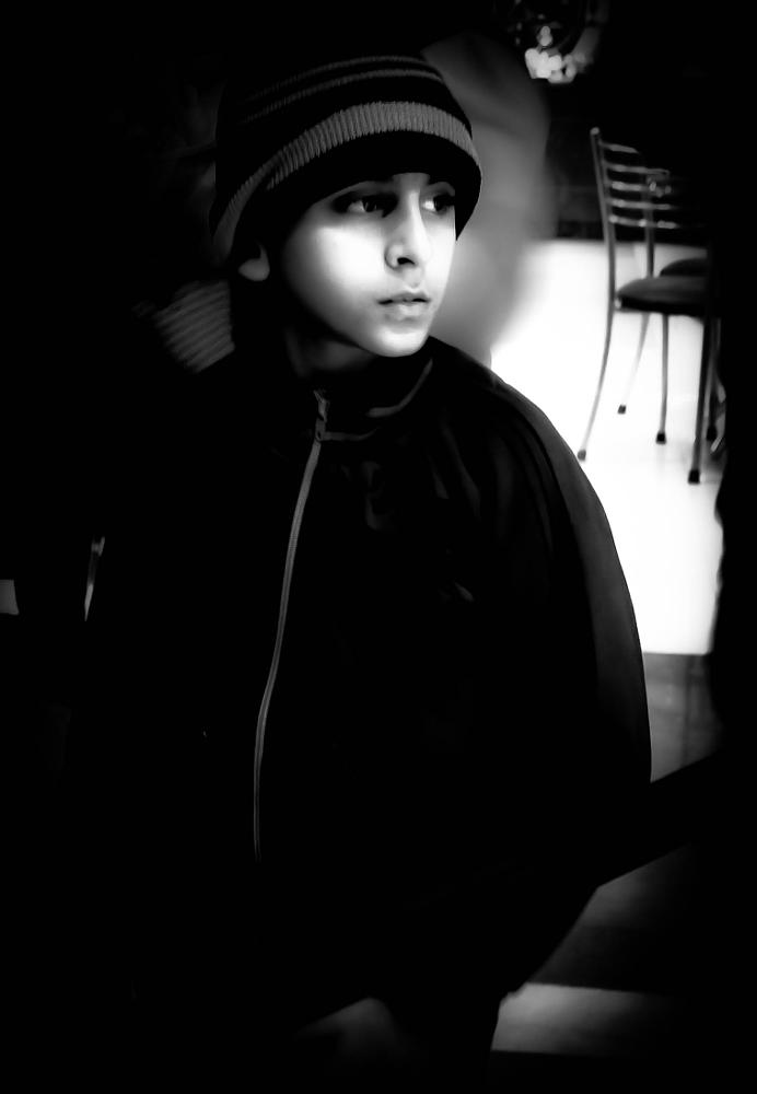 Photo in Black and White #kids #outing #low key