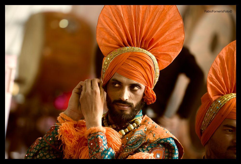 Photo in Portrait #india #punjab #rajastan #color #festival #oriente