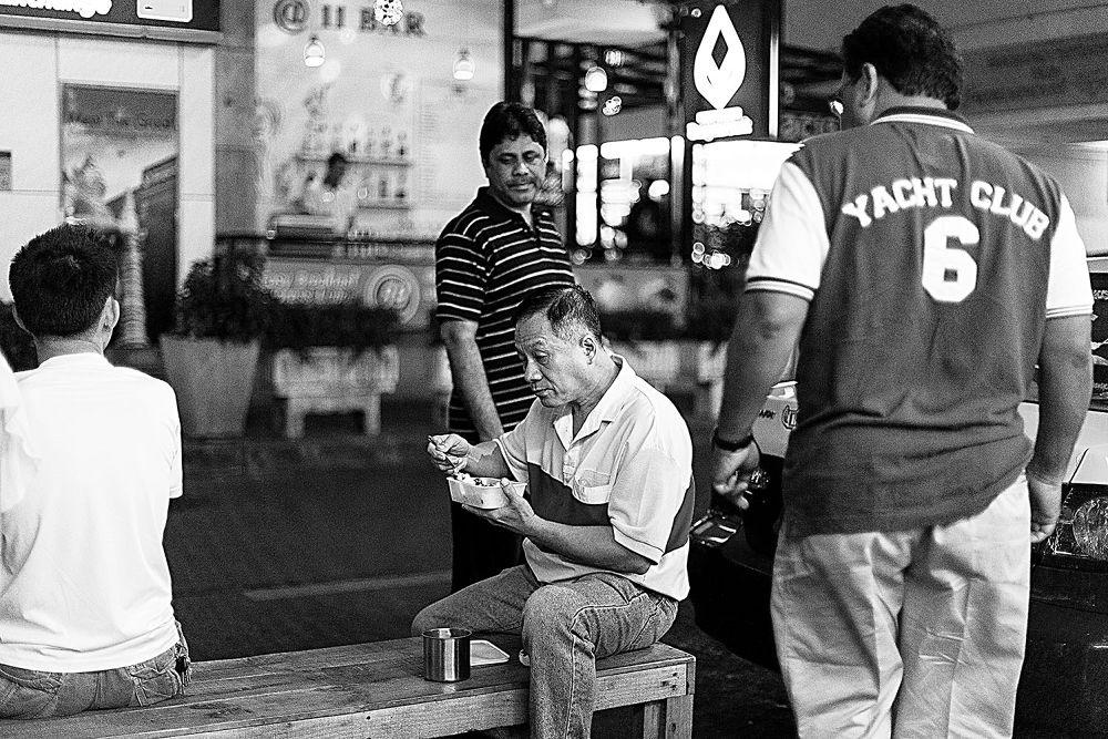Photo in Black and White #street #bangkok #black and white #blackandwhite