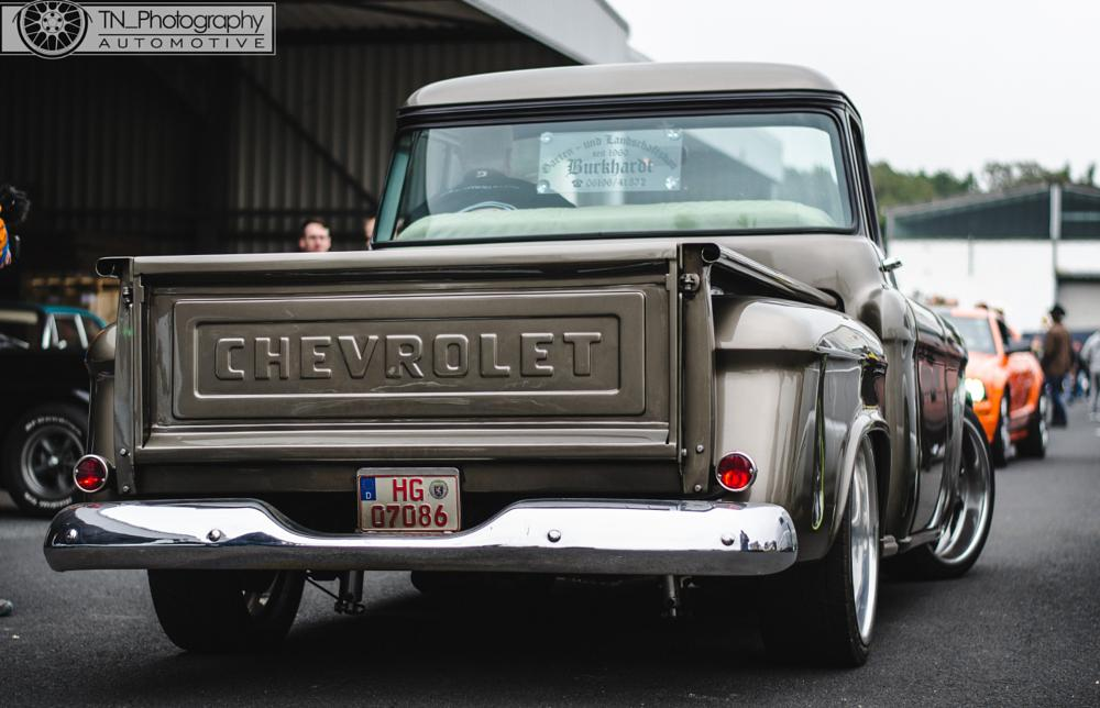 Photo in Vehicle #chevrolet #pick up #car #photoshop #lightroom #car meet #muscle car #muscle #stance #low #germany