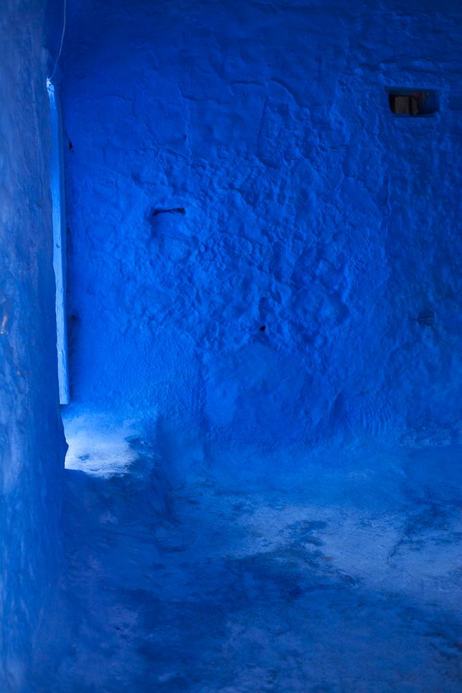 Photo in Random #door #crossway #blue #chefchaouen #morrocco #medina #unknown #trip #blue city #urban