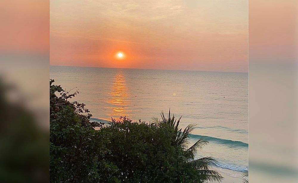Photo in Travel #thailand #sunset #ocean #waves #nature