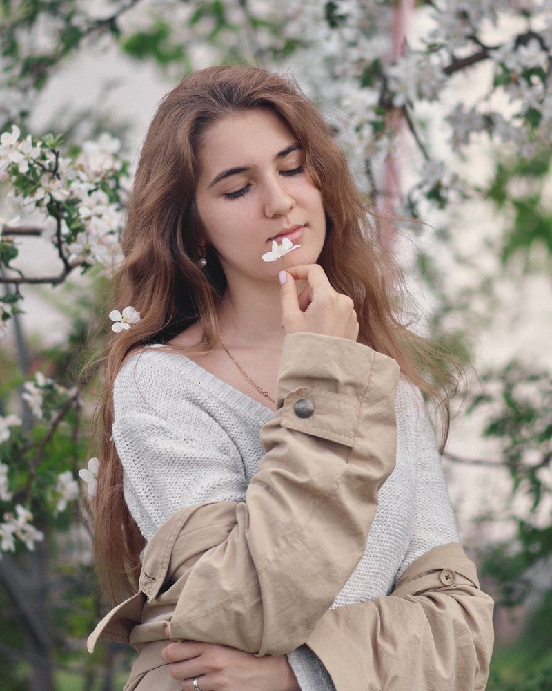 Photo in Portrait #model #nikon #portrait #beautiful #face #female