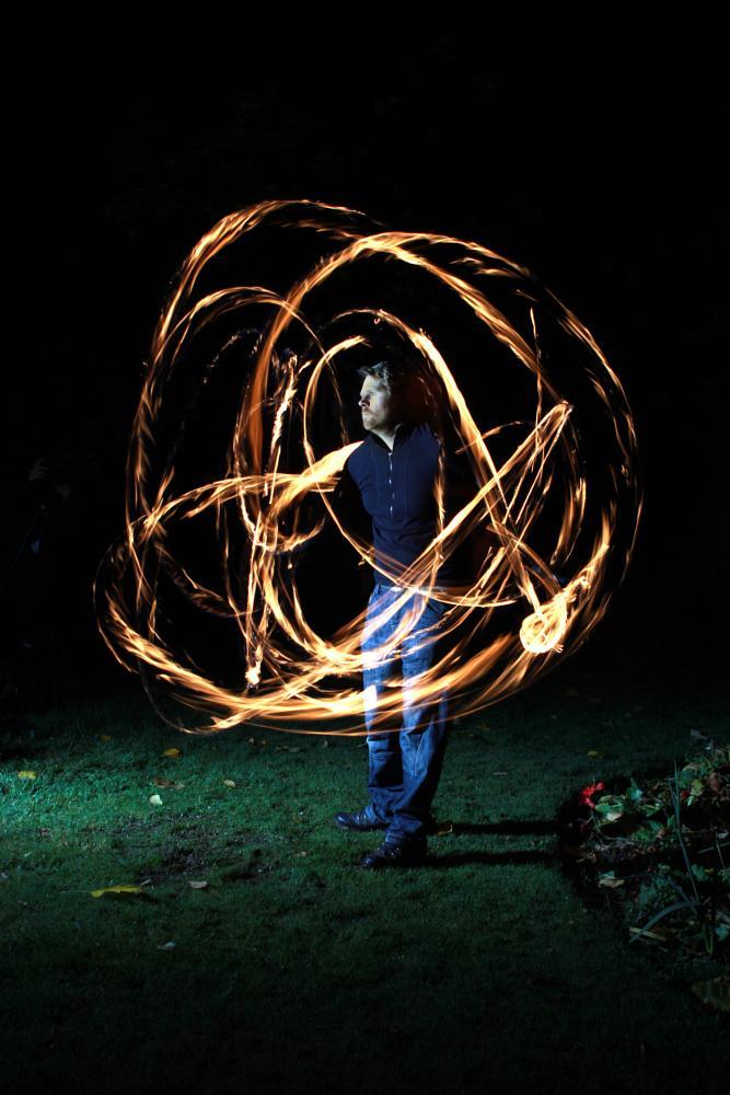 Photo in Portrait #fire #firedancer #dancer #performer #myerscough