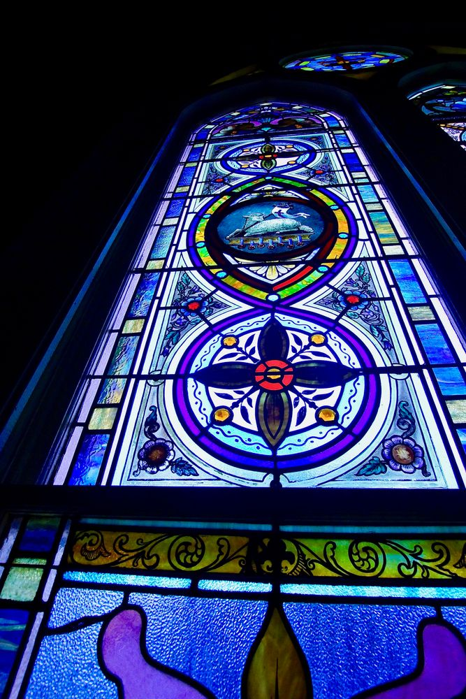 Photo in Architecture #church #stained glass #colors