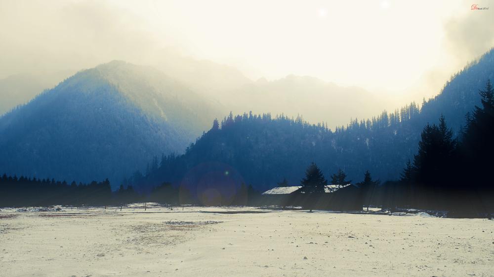 Photo in Landscape #snow #landscapes #weather