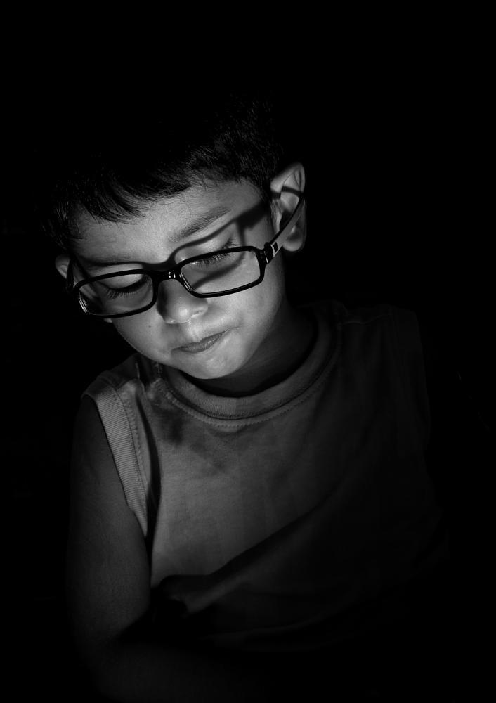 Photo in Portrait #kids #portrait #black_white