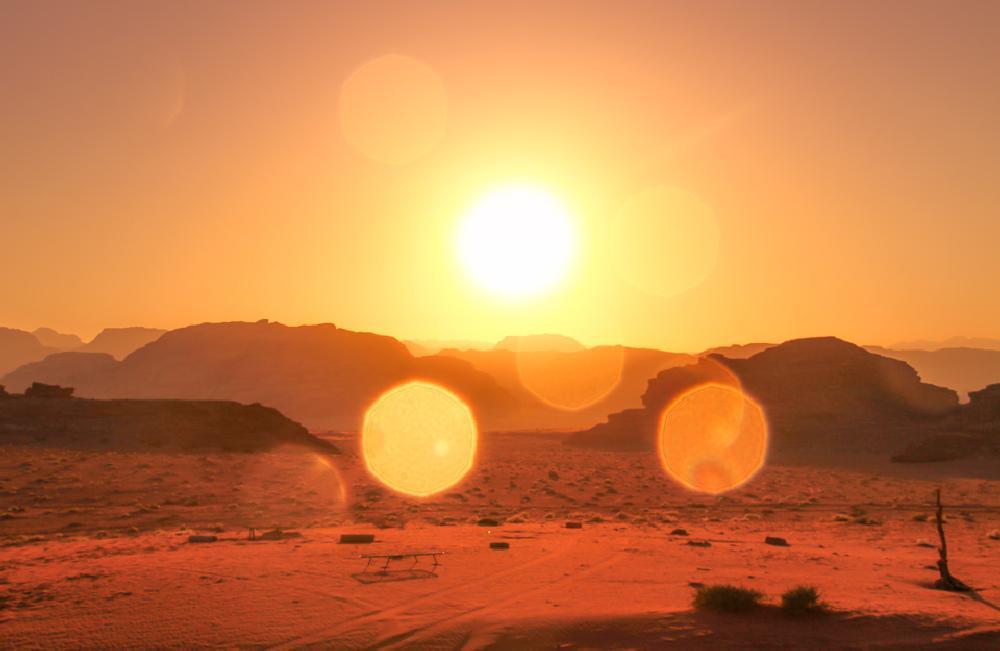 Photo in Travel #jordan #wadi rum #desert #sunset