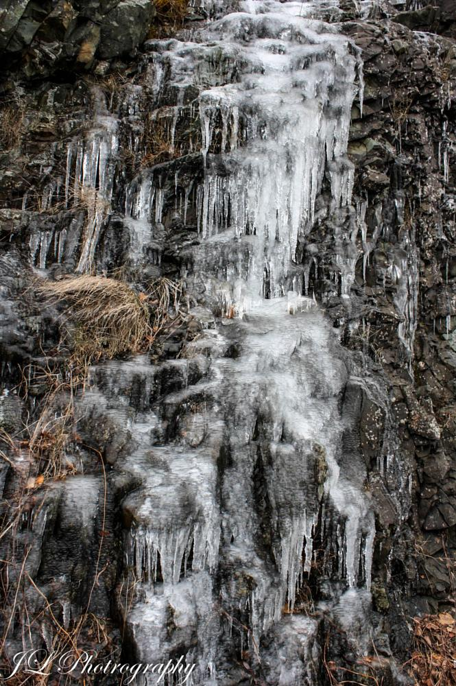 Photo in Nature #winter #frozen #waterfal #ice