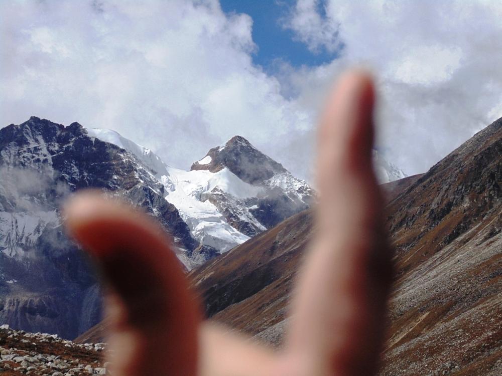 Photo in Landscape #yumesamdong #snow #peak #sikkim