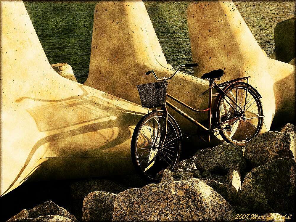 Photo in Fine Art #bike #bicycle #marcello #sokal #art #arte #old #bicicleta #brasil #brazil