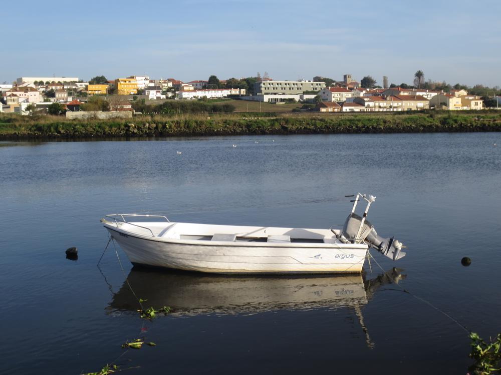 Photo in Landscape #boat #river #landscape #seaside