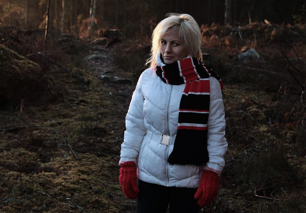 Photo in People #girl #sweden #forrest