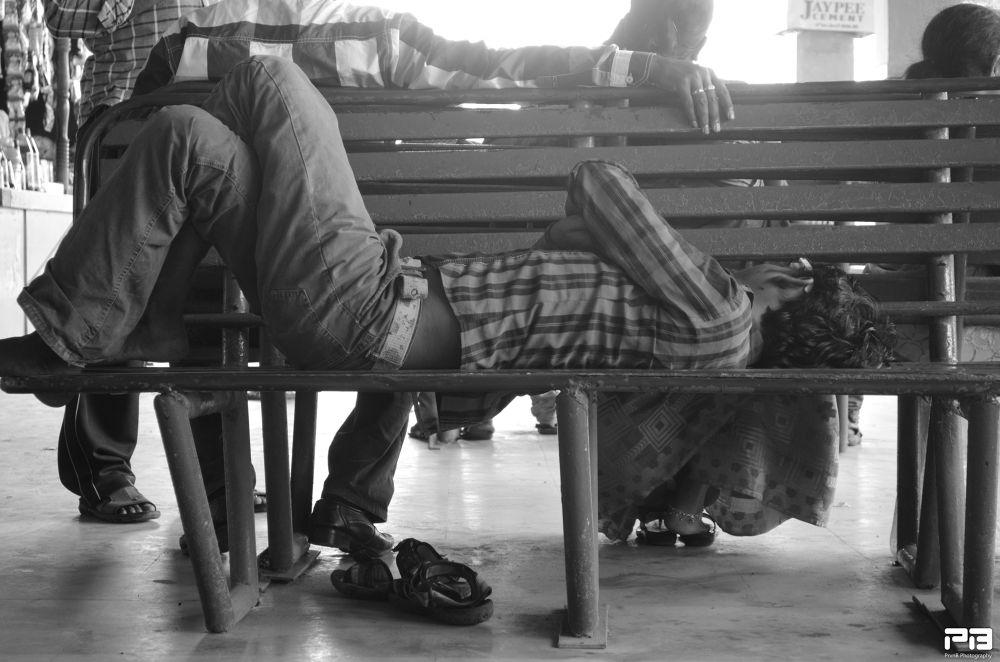 Photo in Street Photography #street #sleep #crowd