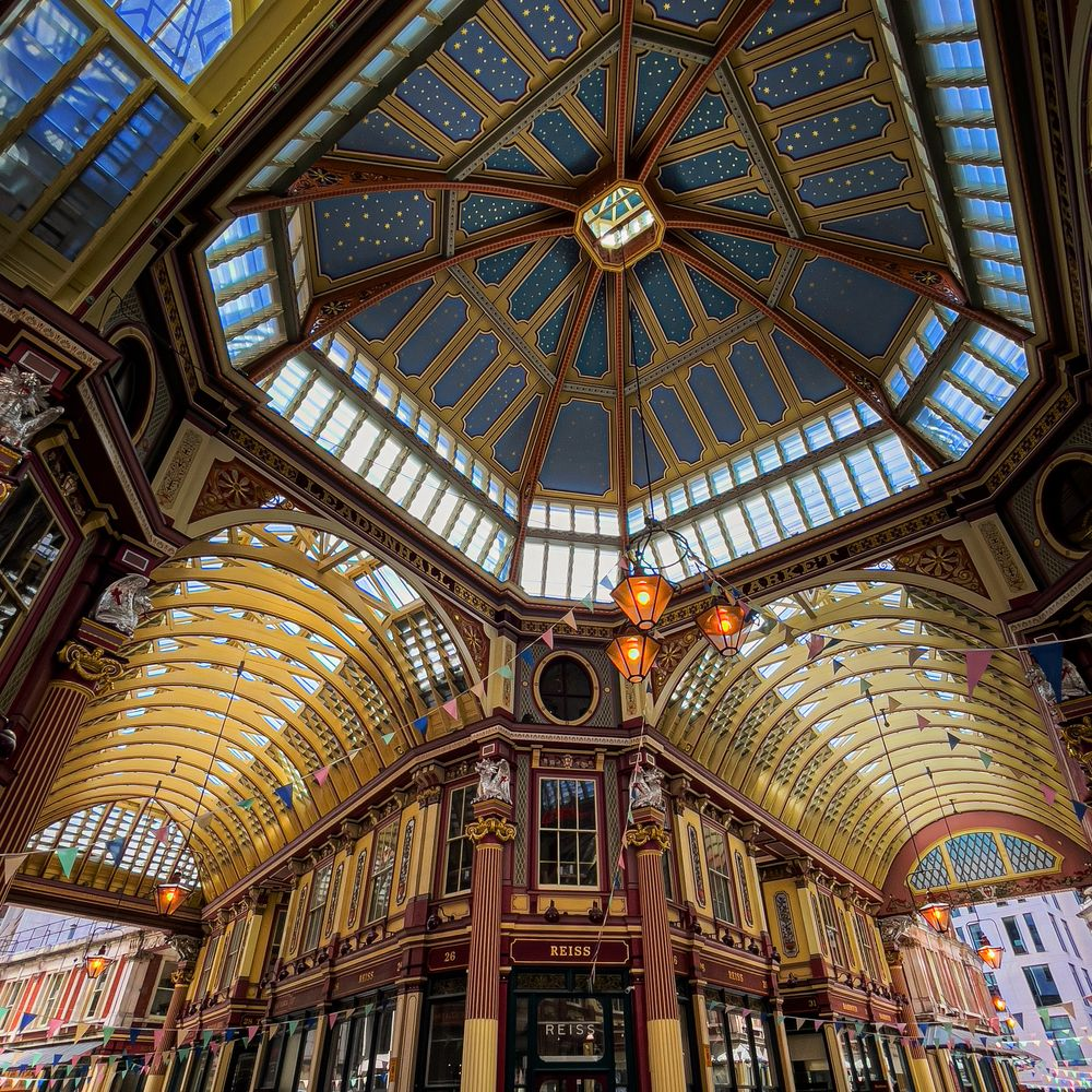 Photo in Architecture #architecture #london #market #ceiling #shopping