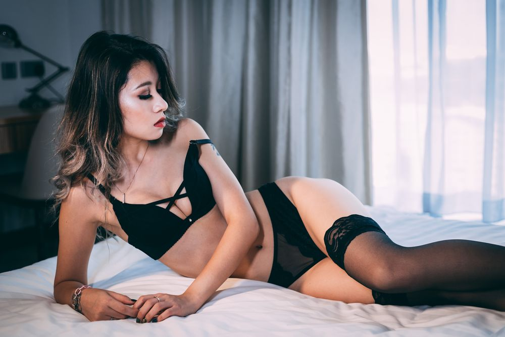 Photo in People #portrait #boudoir #lingerie #female #glamour #asian #seductive #implied