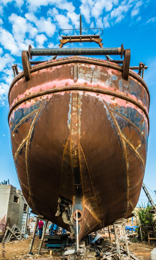 Photo in HDRI #hugeshipboatseafishingnik