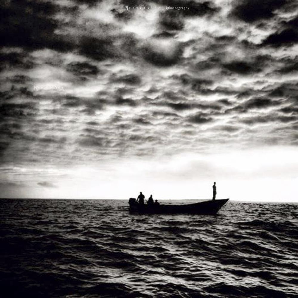 Photo in Nature #reverside #iphoneography #art #fineart #sea #ocean #chile #poetry #monocrome #cartographers #landsacape #scape #clouds #nature #inspirations #creative #mar #inmensidad #fishermen