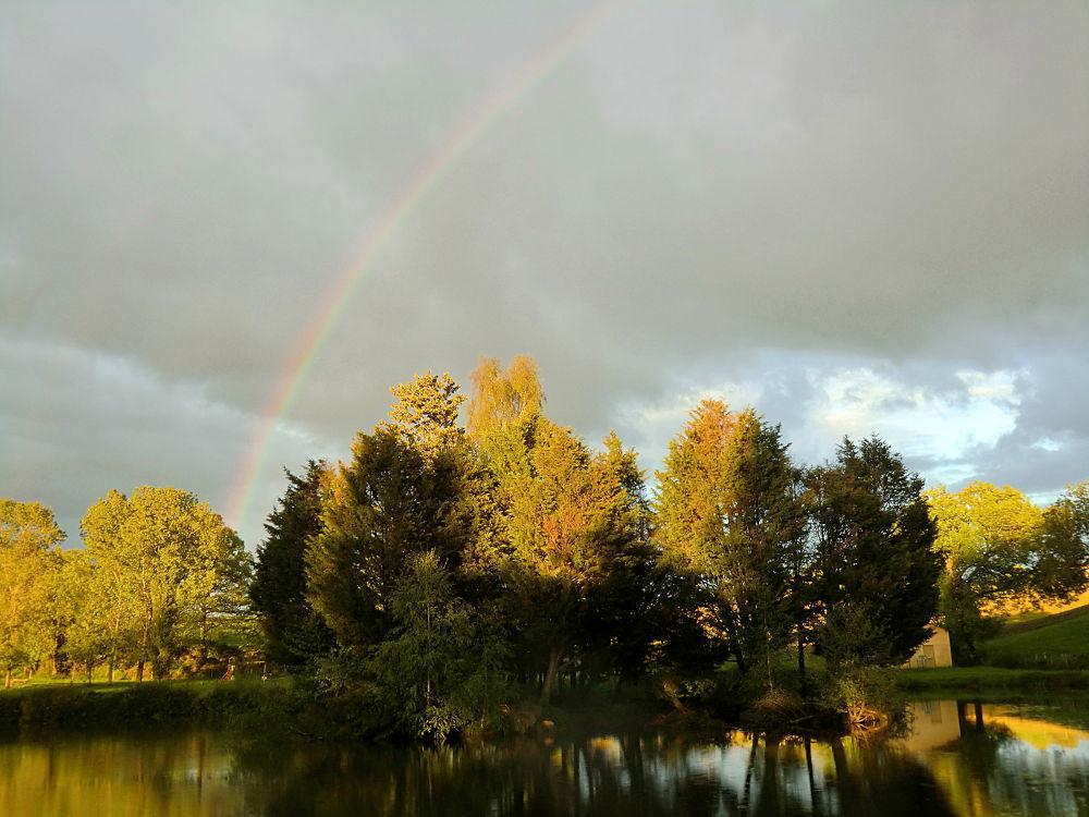Photo in Random #landscape #nature #rainbow