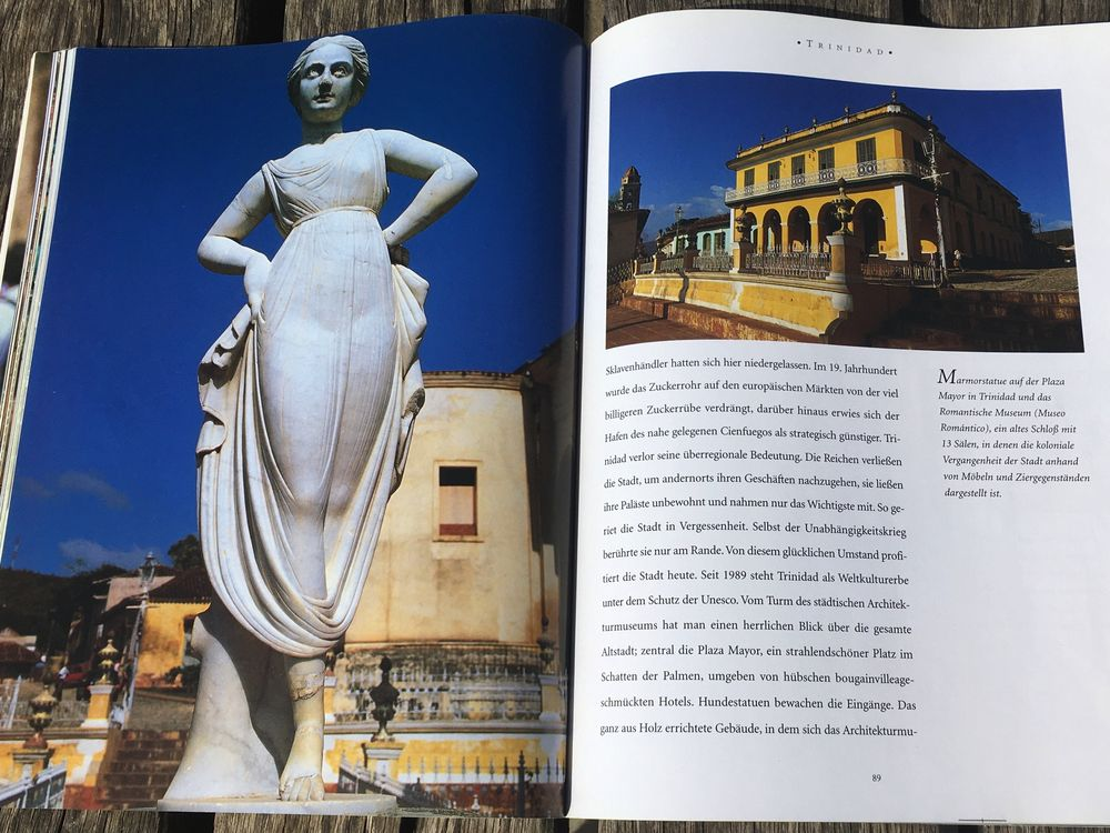 Photo in Travel #book #collection #cuba #evergreen #female #marble #museum #picture book #romantic #statue #tourism #travel #trinidad