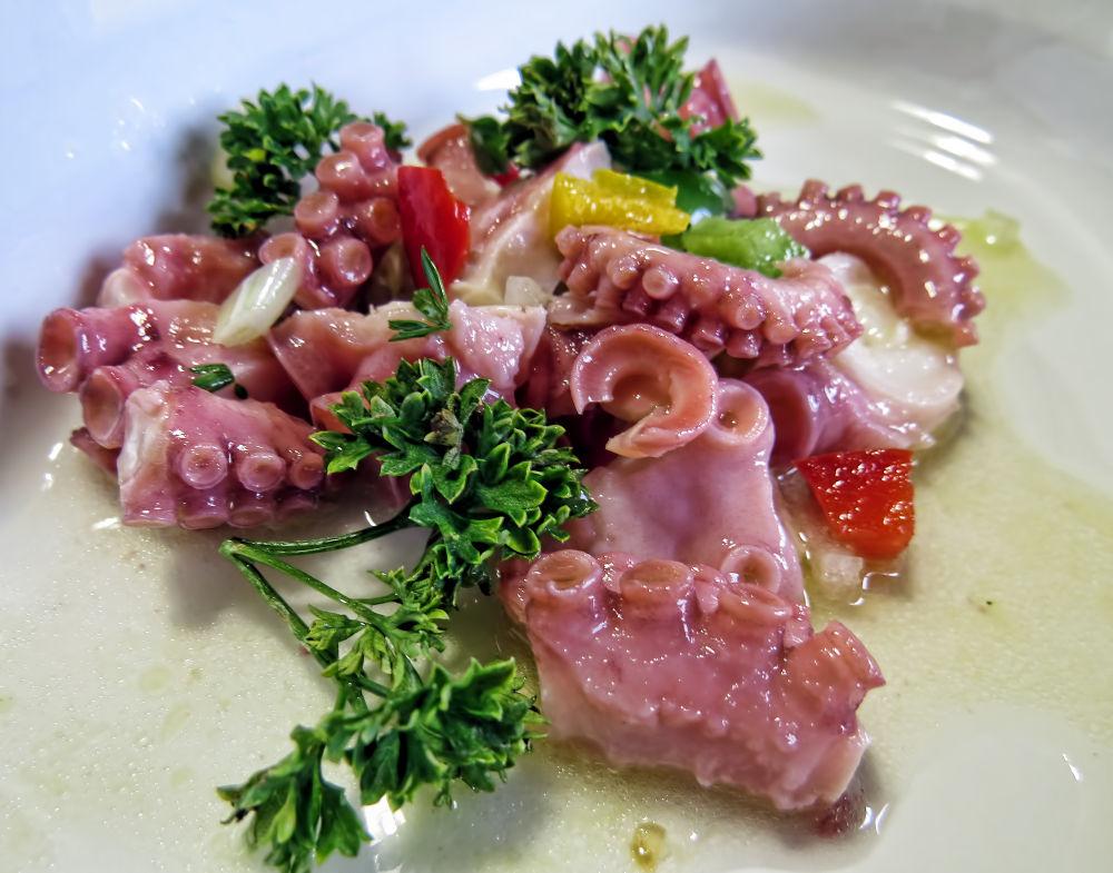 Photo in Food #polvo de escabeche #octopus #pickled
