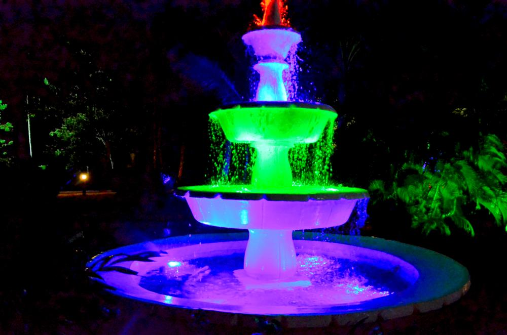 Photo in Abstract #fountain #abstract #colours #langkawi
