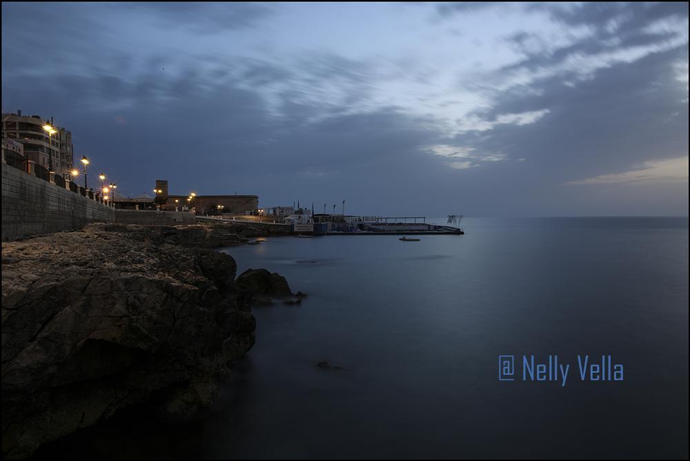 Photo in Macro #sliema #malta #early morning #sea #golden light #silence #landscape