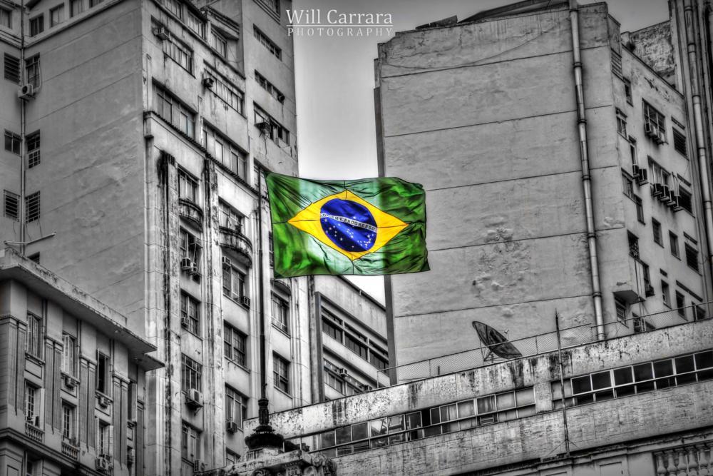 Photo in Street Photography #brasil #rio de janeiro #bandeira