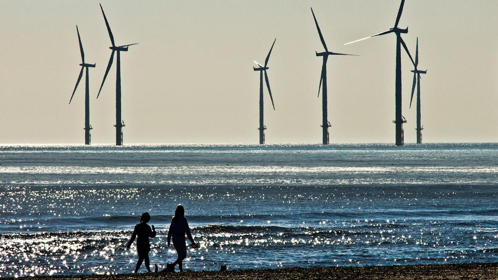 Photo in Sea and Sand #turbines