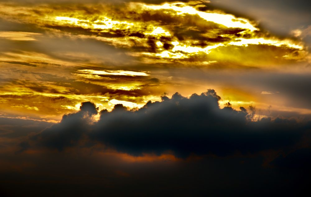 Photo in Nature #light #reflection #clouds #sky
