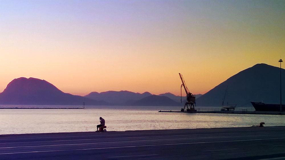 Photo in Random #sunset port