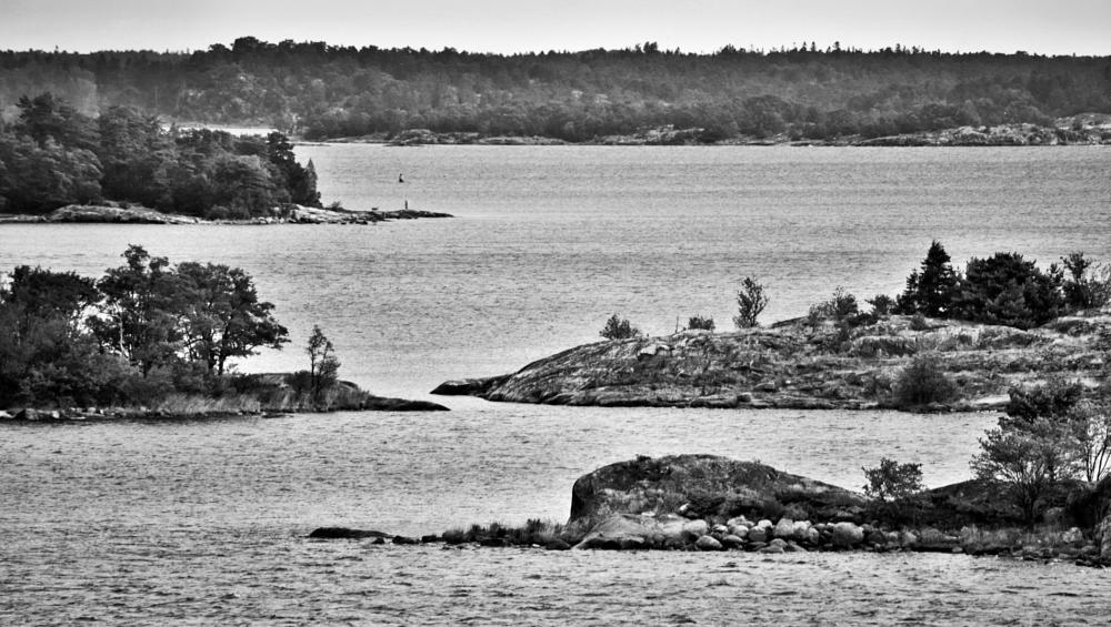 Photo in Black and White #stockholms skärgård