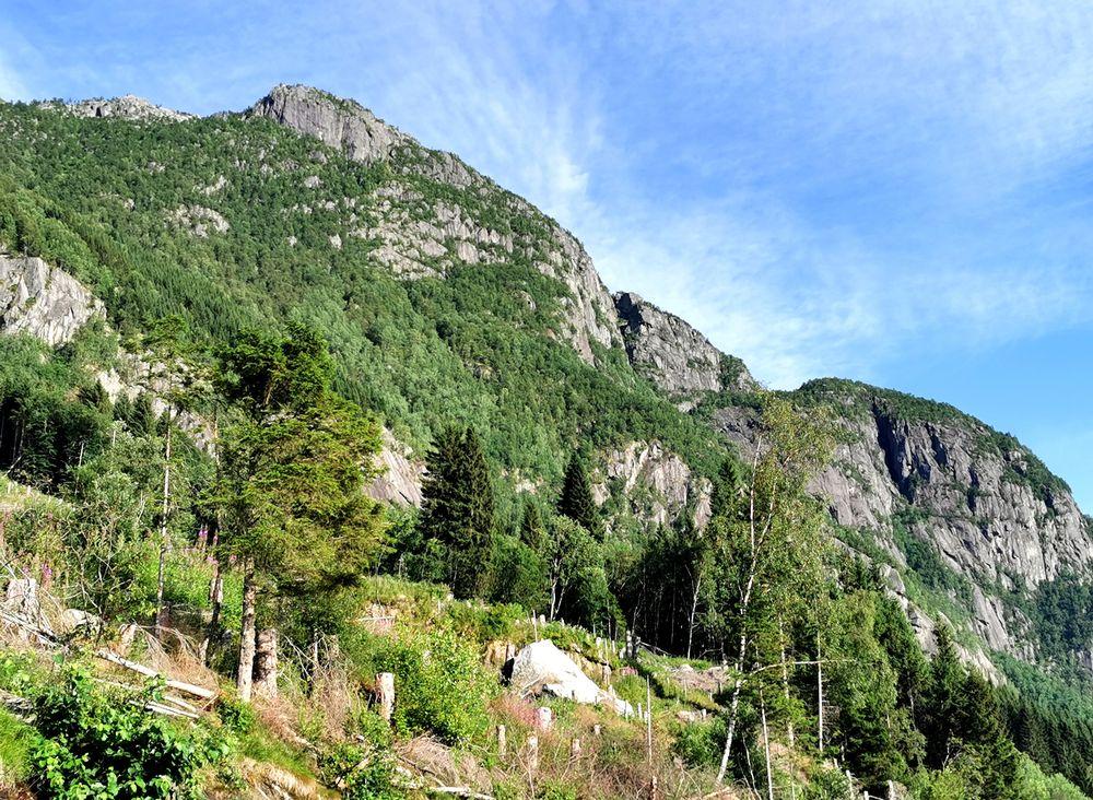 Photo in Nature #mountains #ullensvang #hardanger #norway