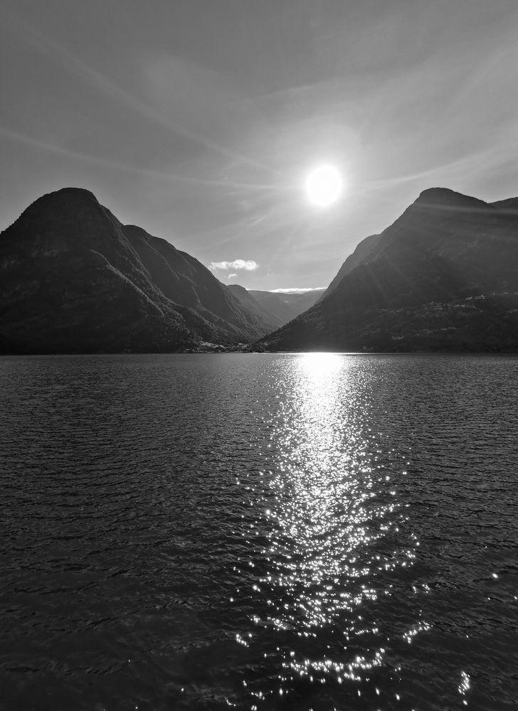 Photo in Black and White #buerdalen #ullensvang #hardanger #norway #bw