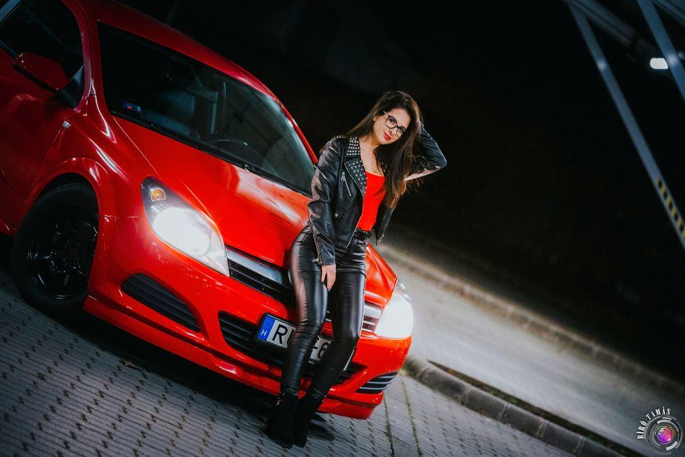 Photo in Portrait #red black car wild night