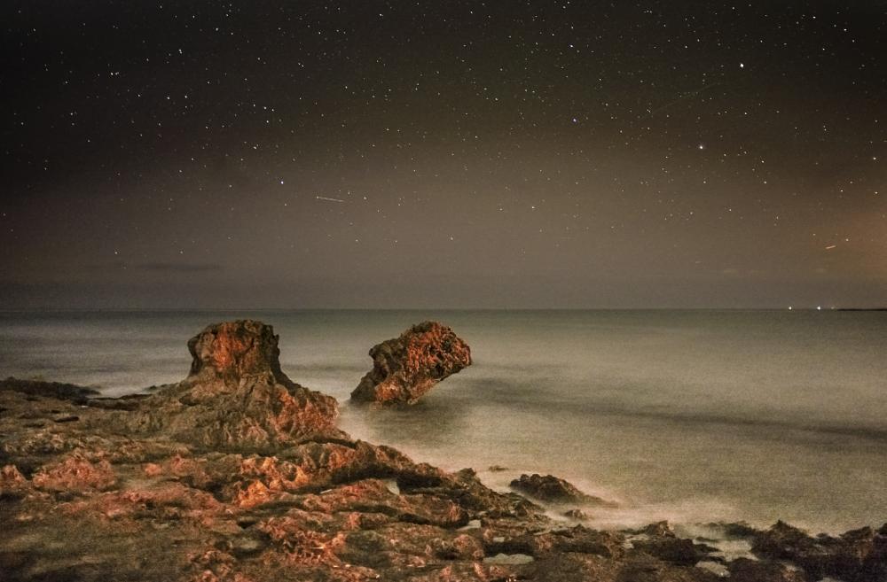 Photo in Landscape #macari #night colors #sicilia #san vito lo capo