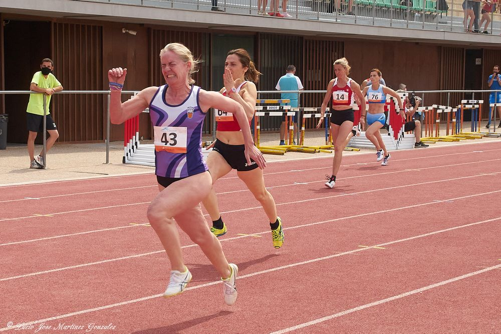 Photo in Sports #sport #track and field #woman athletes #100 meters #catalonia #cataluña #españa #spain