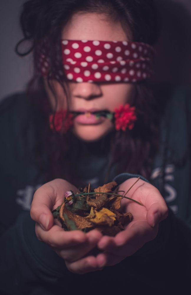 Photo in Portrait #portrait #nature #pollution #waste #trash #death #dead nature #girl #ritratto #ritrature