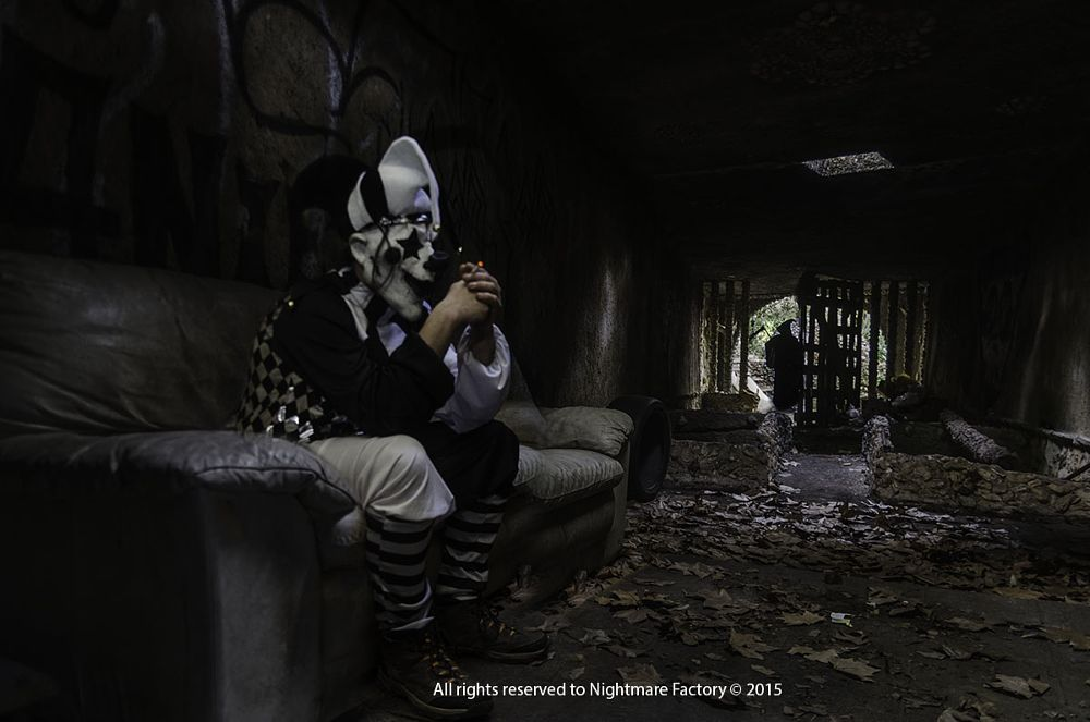 Photo in Fine Art #cigar #dead #portugal #clown