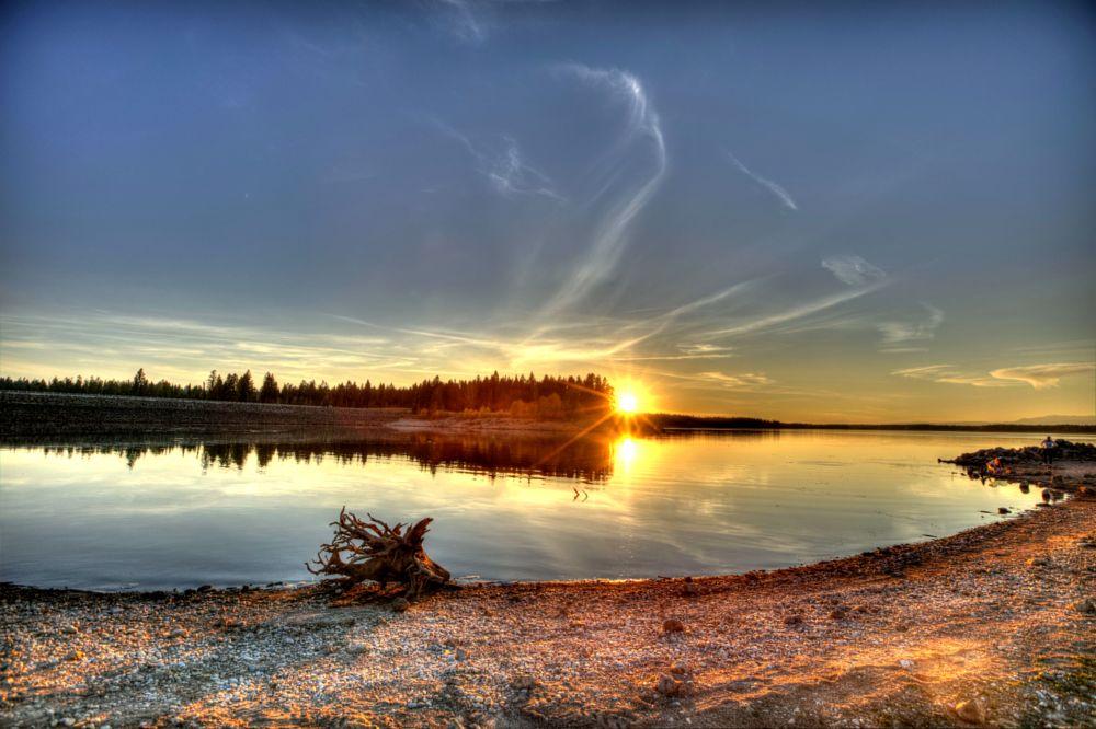 Photo in Random #yellowstone #idaho #sunset #canon