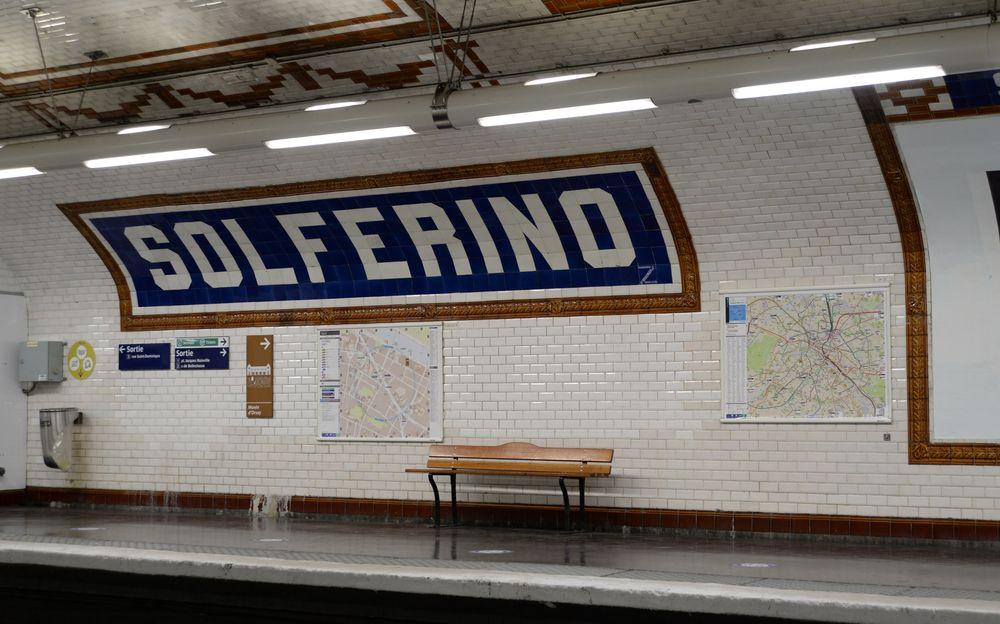 Photo in Urban #subway #paris #metro #solferino