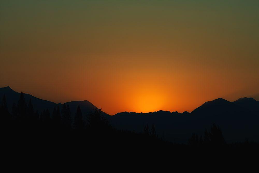 Photo in Landscape #sunrise #montana #colors #shadows #glacier #glacier national park