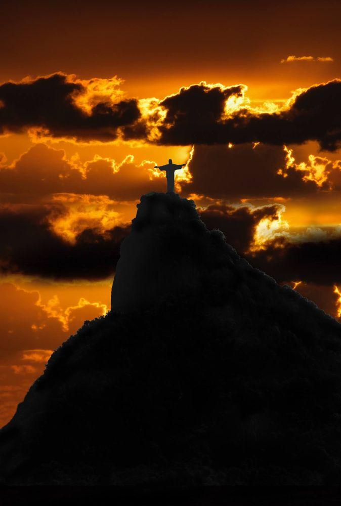 Photo in Random #corcovado #rio de janeiro #fineartphotography #travelphotography #landscape #brazilianart