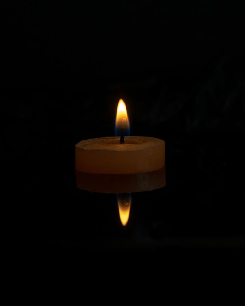 Photo in Random #candle #fire #water