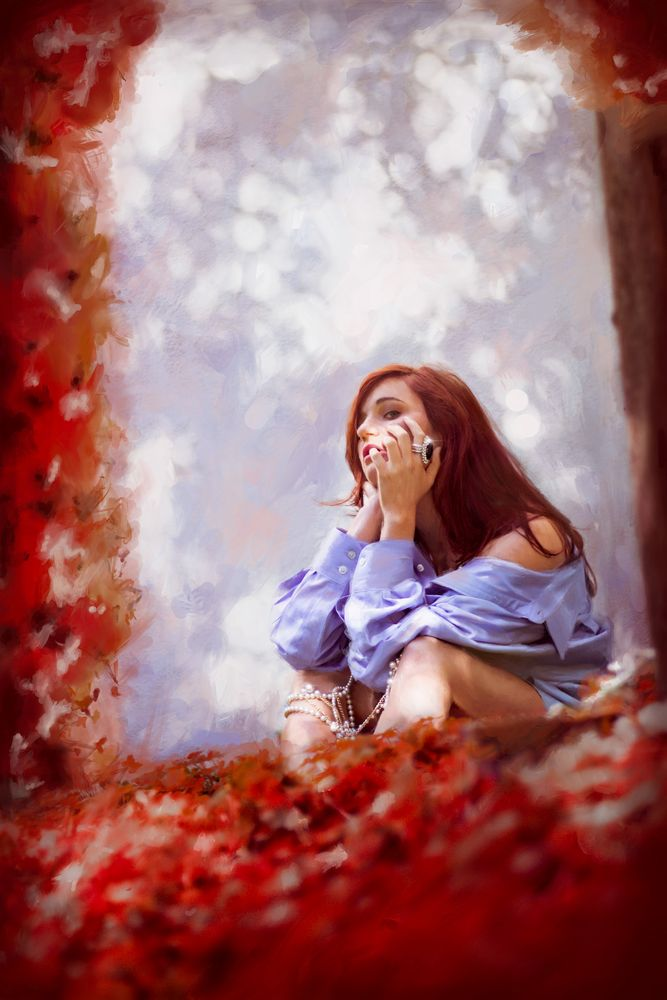 Photo in Fine Art #fantasy #painting #drawing #photography #nature #naturephotography #portrait