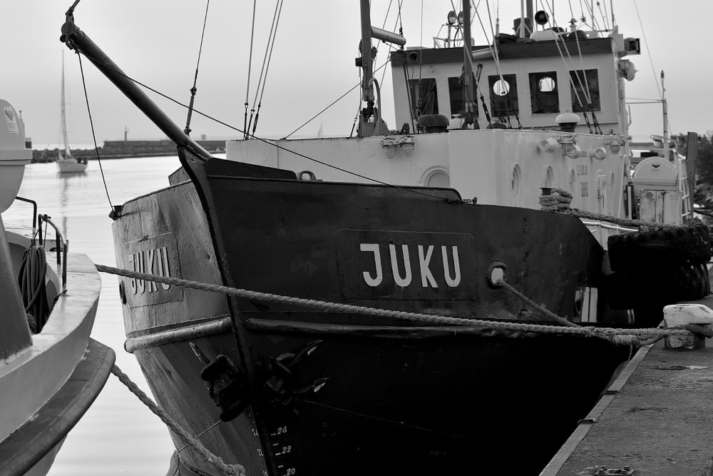 Photo in Black and White #ship #old #sea #boat #black and white #estonia #tallinn #nikon #d7100