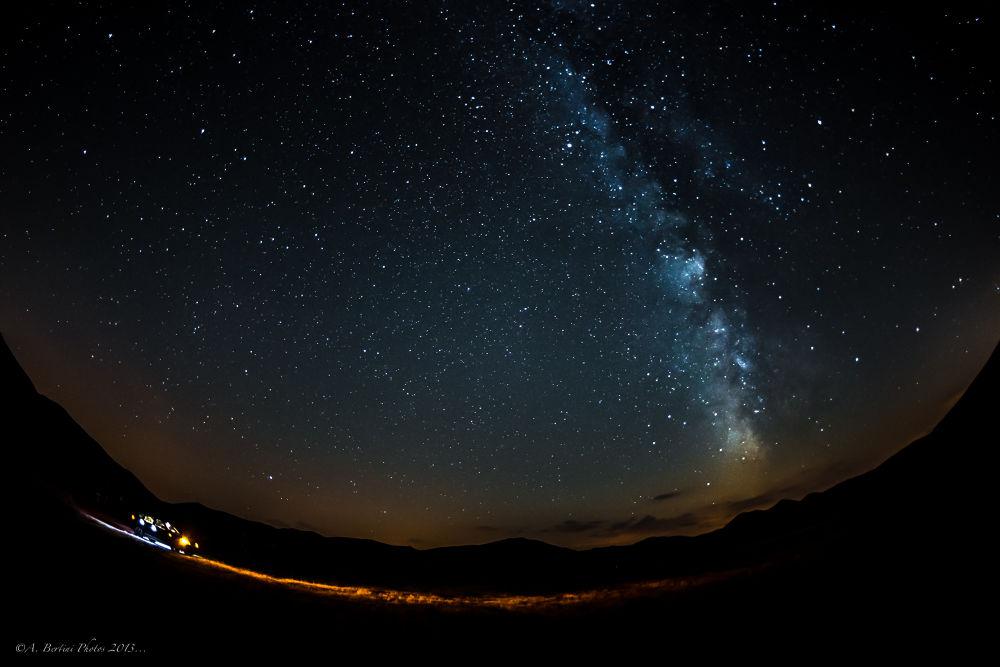 Photo in Landscape #stars #milkway